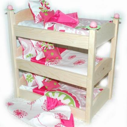 Triple Doll Bunk Bed - Make A Wish ..