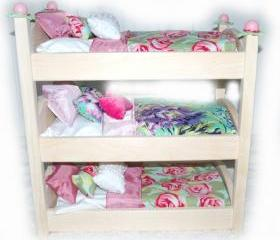 Triple Doll Bunk Bed..