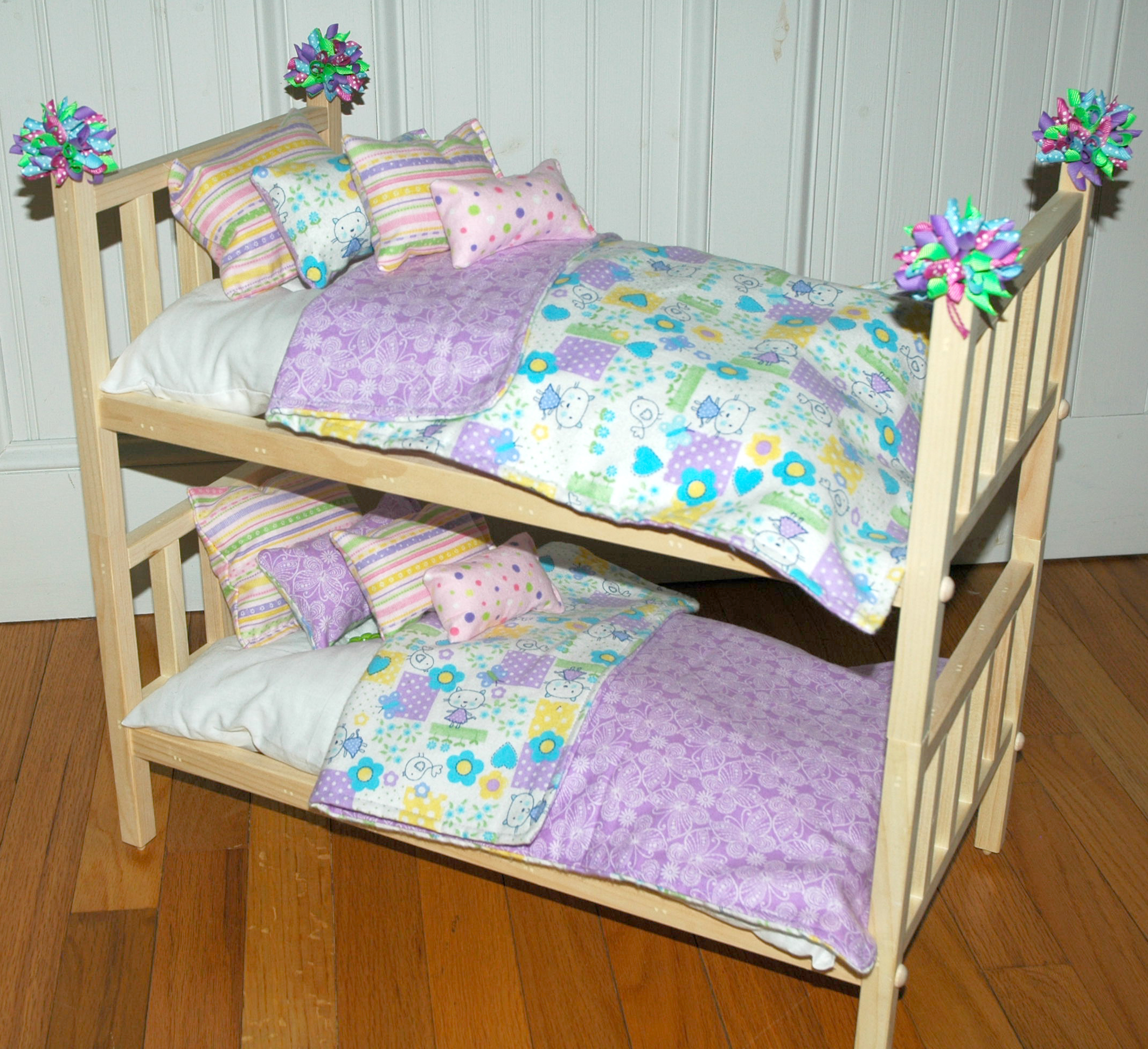 American Girl Doll Bed Doll Bunk Bed Soooo Cute Kittens